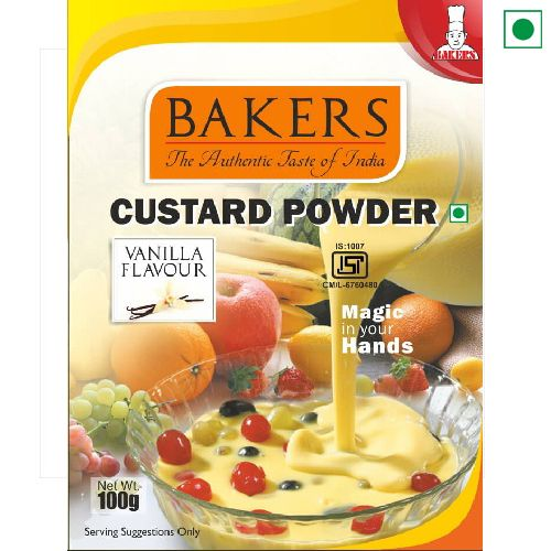 BAKERS CUSTARD POWDER 100GM