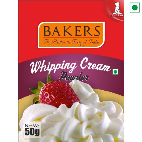 BAKERS WHIPPING POWDER 50GM