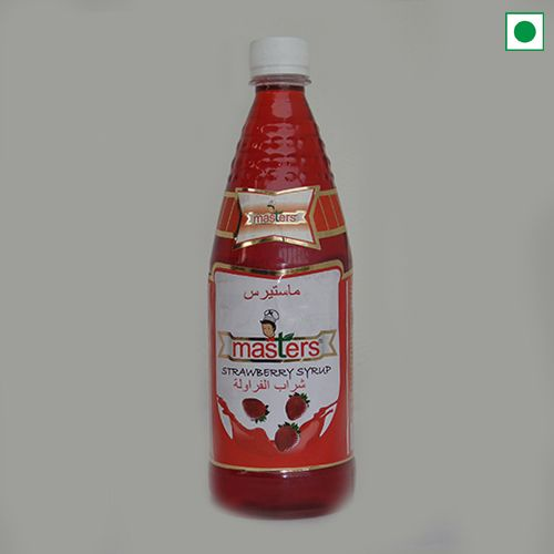 MASTERS STRAWBERRY SYRUP 750ML