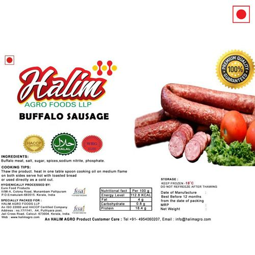 HALIM BUFFALO BREAKFAST SAUSAGE 500gm