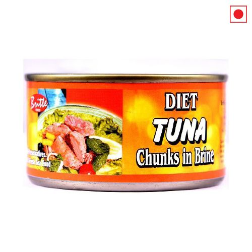 BRITTO TUNA CHUNKS IN BRINE 185GM