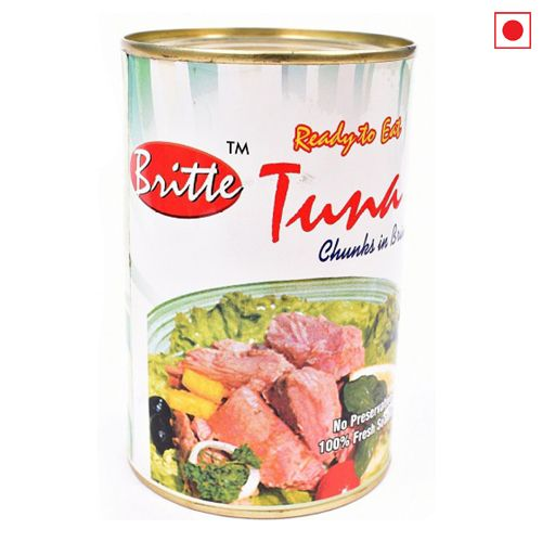 BRITTO TUNA CHUNKS IN BRINE 450GM