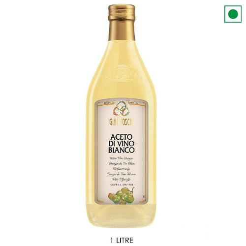 TOSCHI WHITE WINE VINEGAR 1LTR