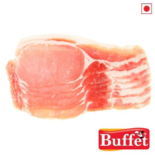 BUFFET PORK BACK BACON 150g