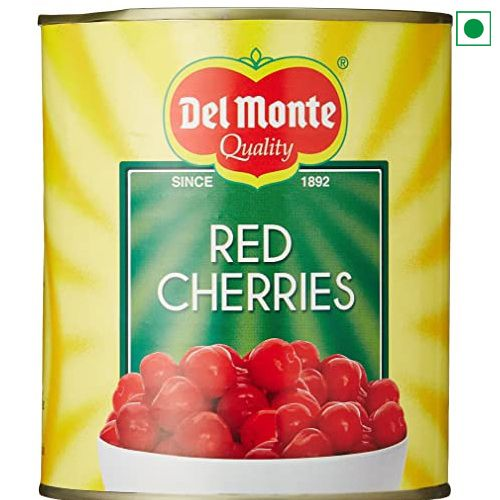 DELMONTE STEM RED CHERRIES 840GM