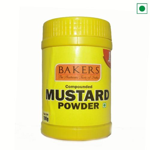BAKERS MUSTARD POWDER 100GM