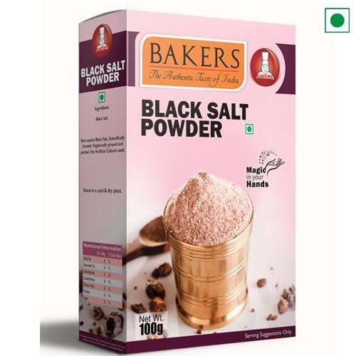 BAKERS BLACK SALT POWDER 100GM