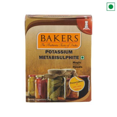 BAKERS POTASSIUM METABISULPHITE 50GM