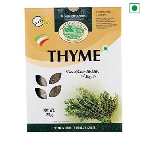DRY HERB THYME 25GM