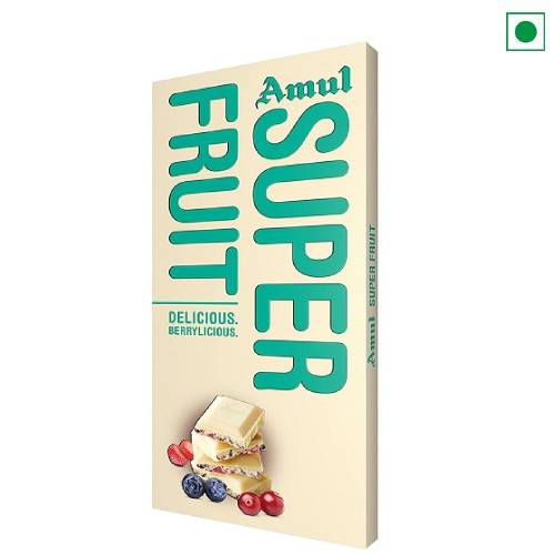 AMUL SUPER FRUIT CHOCOLATE 150GM