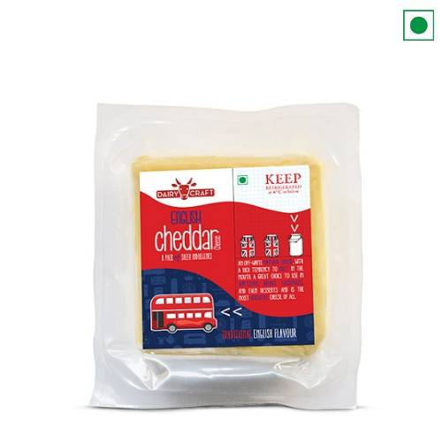 DAIRY CRAFT SMOKED ENGLISH CHEDDAR 200GM