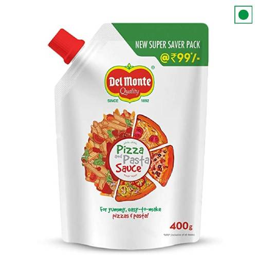DELMONTE PIZZA PASTA SAUCE SPOUT 400GM