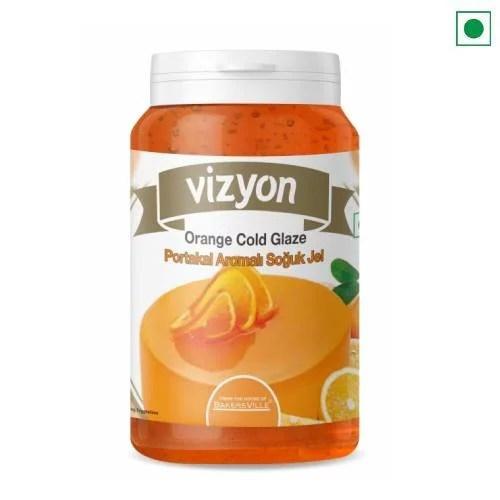 VIZYON ORANGE COLD GLAZE 200 GM