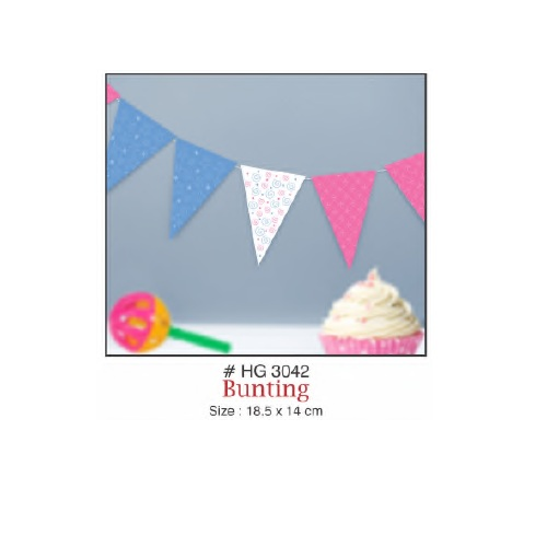 BUNTING BABY SHOWER