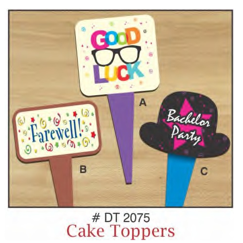 CAKE TOPPERS BACHELOR PARTY  10 PIECE