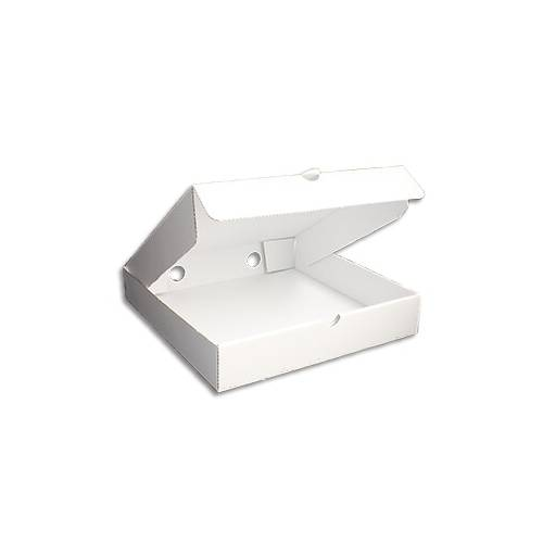 PIZZA BOX WHITE 9X9X2 INCH