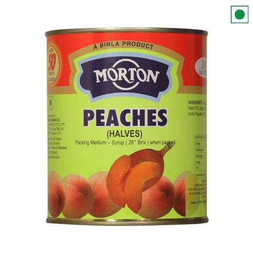 MORTON PEACHES 850GM