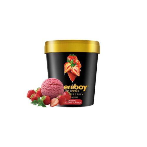 MERIIBOY MINITUB STRAWBERRY ICE CREAM 125 ML