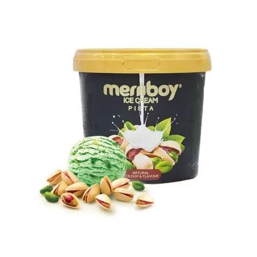 MERIIBOY PISTA ICE CREAM 500 ML