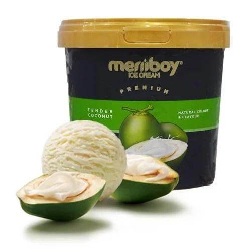MERIIBOY TENDER COCONUT ICE CREAM 1 LTR