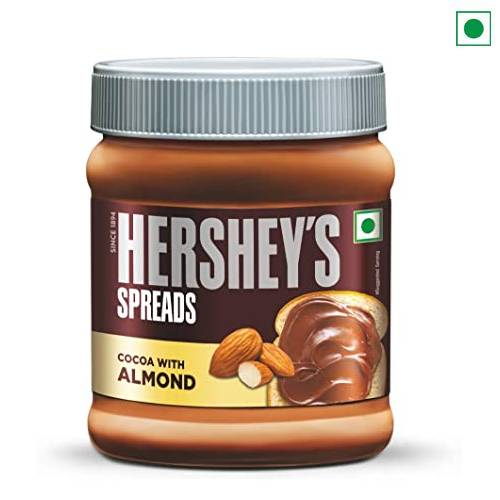 HERSHEY'S COCOA WITH ALMOND SPREAD 350GM