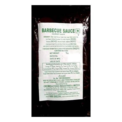 CREMICA BBQ / BARBECUE SAUCE 1kg