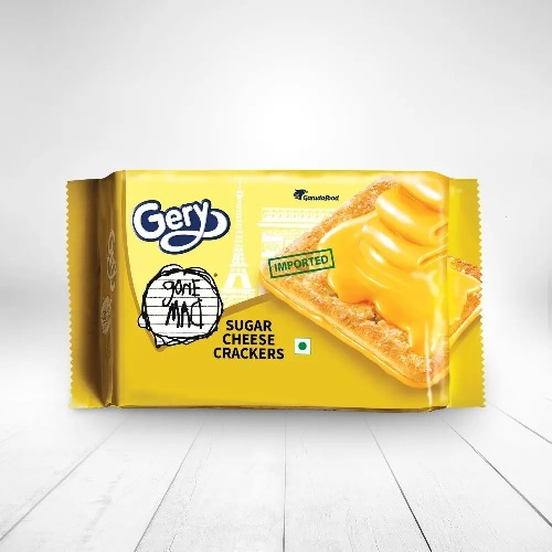 GERY GONE MAD SUGAR CHEESE CRACKERS 110g