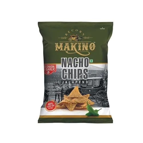 MAKINO NACHO CHIPS JALAPENO 60GM