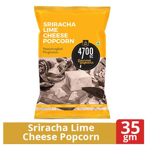 4700BC SRIRACHA LIME CHEESE POPCORN 35g