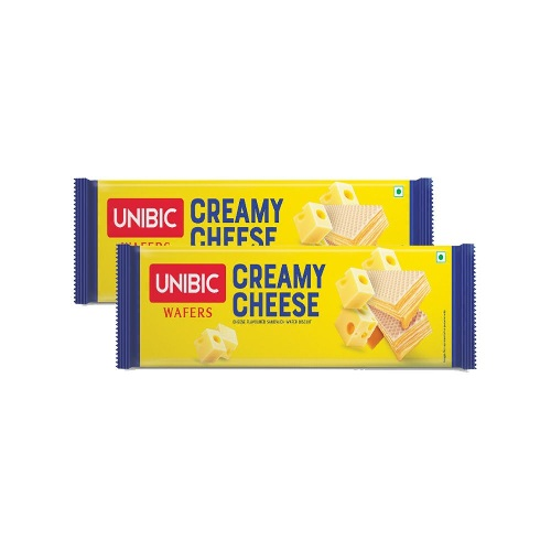 UNIBIC CREAMY CHEESE WAFERS 75g  (BUY 1 GET 1 FREE)