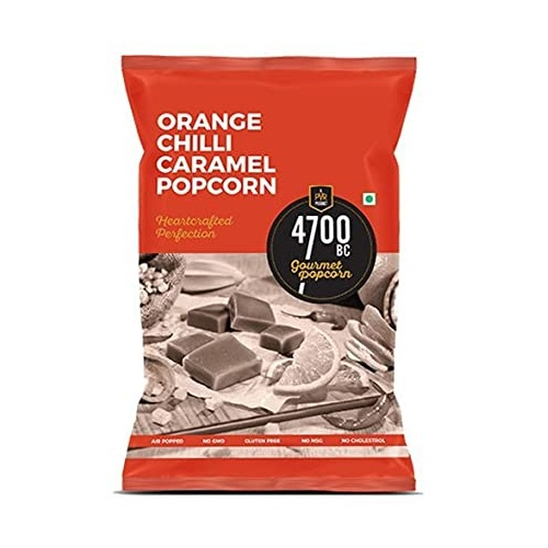 4700BC ORANGE CHILLI CARAMEL POPCORN 125g