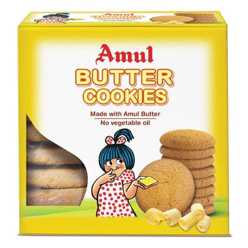 AMUL BUTTER COOKIES / BISCUITS 200g