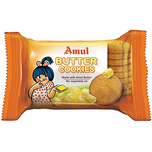 AMUL BUTTER COOKIES / BISCUITS 50g