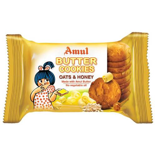 AMUL OATS & HONEY BUTTER COOKIES / BISCUITS 50g