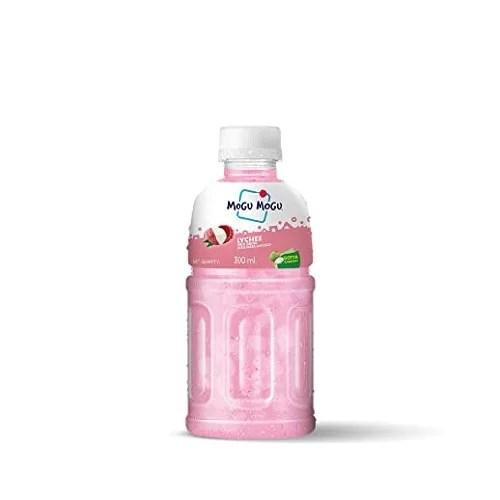 MOGU MOGU LYCHEE JUICE DRINK WITH NATA DE COCO 300 ml