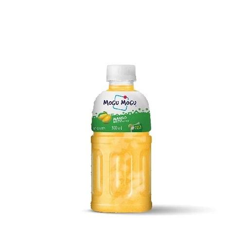 MOGU MOGU MANGO JUICE DRINK WITH NATA DE COCO 300 ml