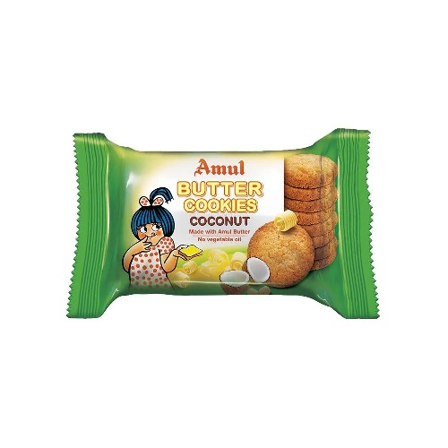 AMUL COCONUT BUTTER COOKIES 50g