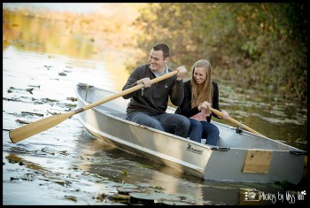 really-fun-engagement-session-ideas-row-boat-michigan