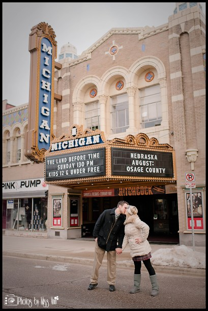historic-michigan-sign-in-downtown-ann-arbor-engagement-session