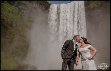wedding-at-skogafoss-waterfall-iceland-wedding-kiss