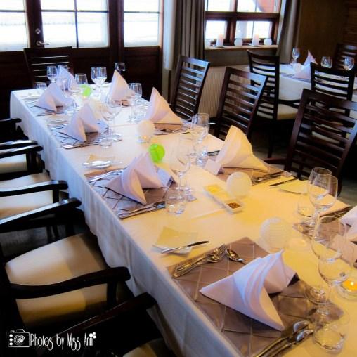 Iceland Wedding Reception Details by Iceland Wedding Planner