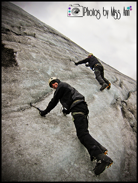Iceland Honeymoon Ice Climbing