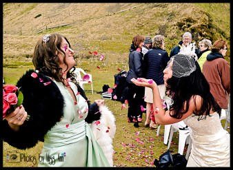 Seljalandsfoss Bridal Party Photos Iceland Wedding Photographer