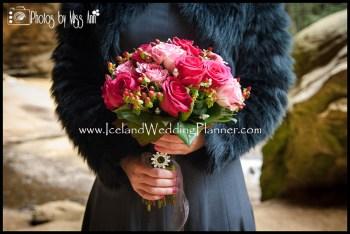 Vik Beach Wedding Photography Iceland Bridal Bouquet