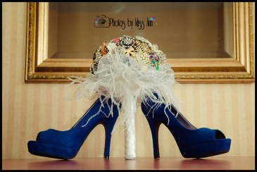 Iceland Wedding Bouquet and Bridal Shoes Photos by Miss Ann