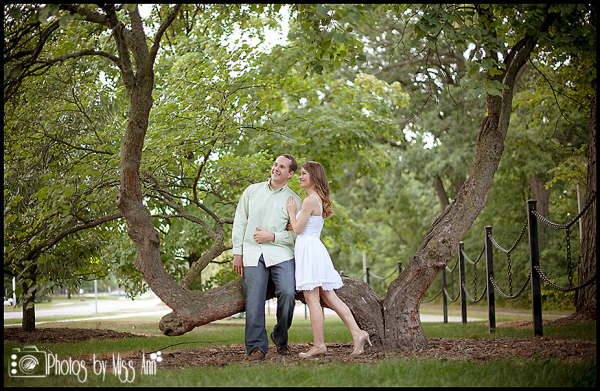 Michigan State Engagement Session Photos by Miss Ann