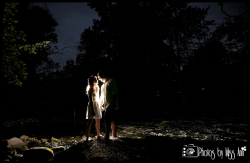 Night Time Engagement Photos Michigan State Engagement Photographer Photos by Miss Ann