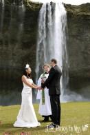 Seljalandsfoss Waterfall Wedding Photographer Iceland Photos by Miss Ann