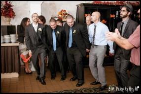 Groom Dancing Dabke Lebanese Wedding Reception Photos Central Park West Wedding