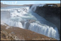 Gullfoss Iceland Waterfall Wedding